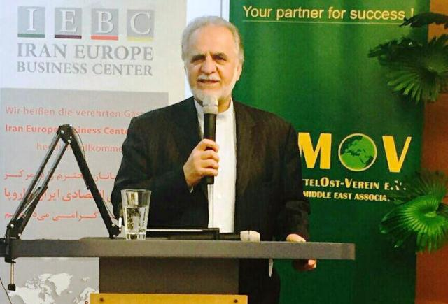 Iran, Germany Top Officials Inaugurated Iran Europe Business Center
